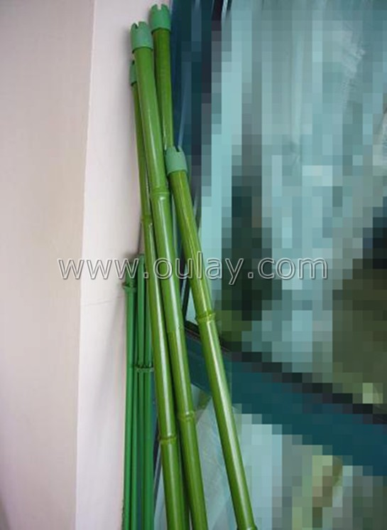 plastic bamboo stakes