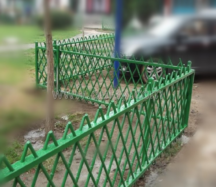 plastic bamboo fence