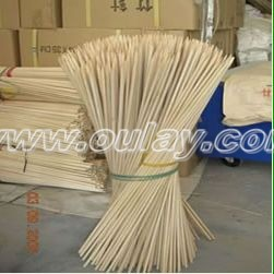 Natural bamboo sticks