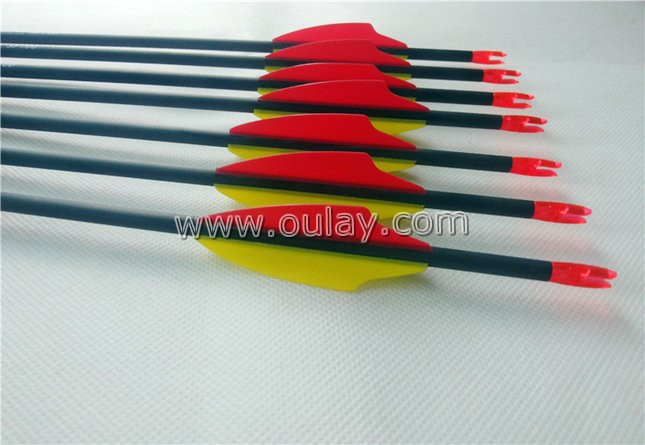 carbon arrows with adapters or inserts