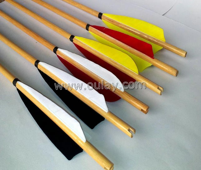 factory sale wooden arrows
