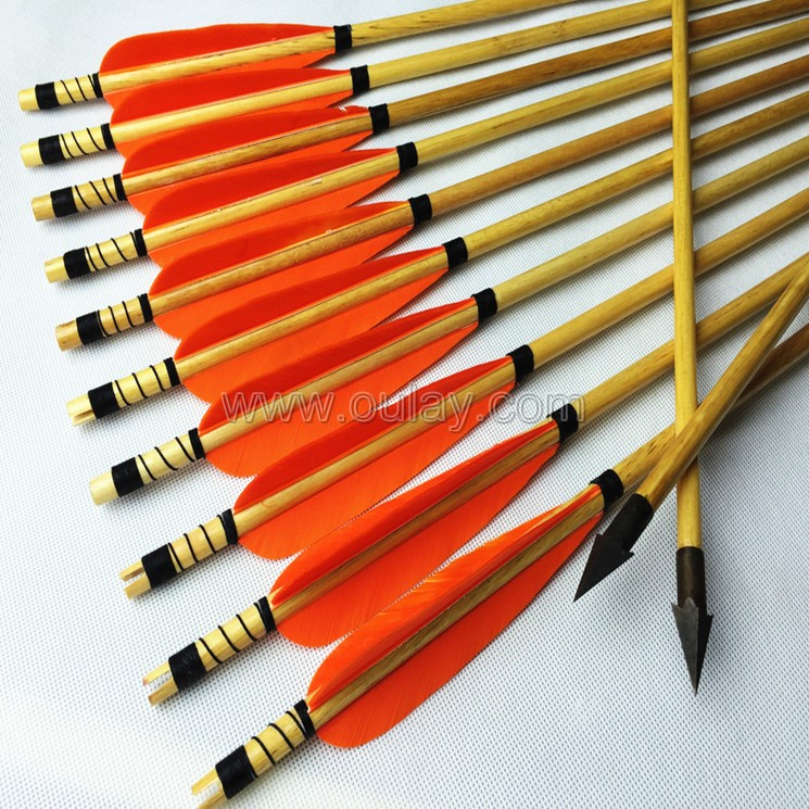 wood arrows for target shooting