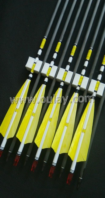 yellow cresting carbon arrows