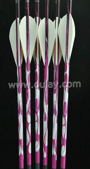 pink cresting  arrows