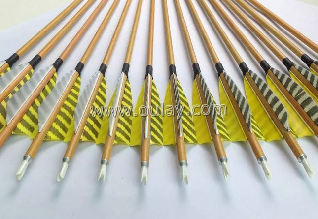 6.2mm wood grain for pure carbon arrows