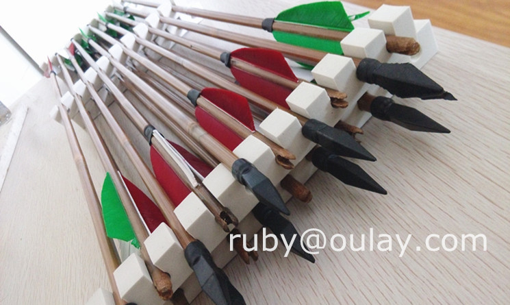 platic arrow heads bamboo arrows for entertainment