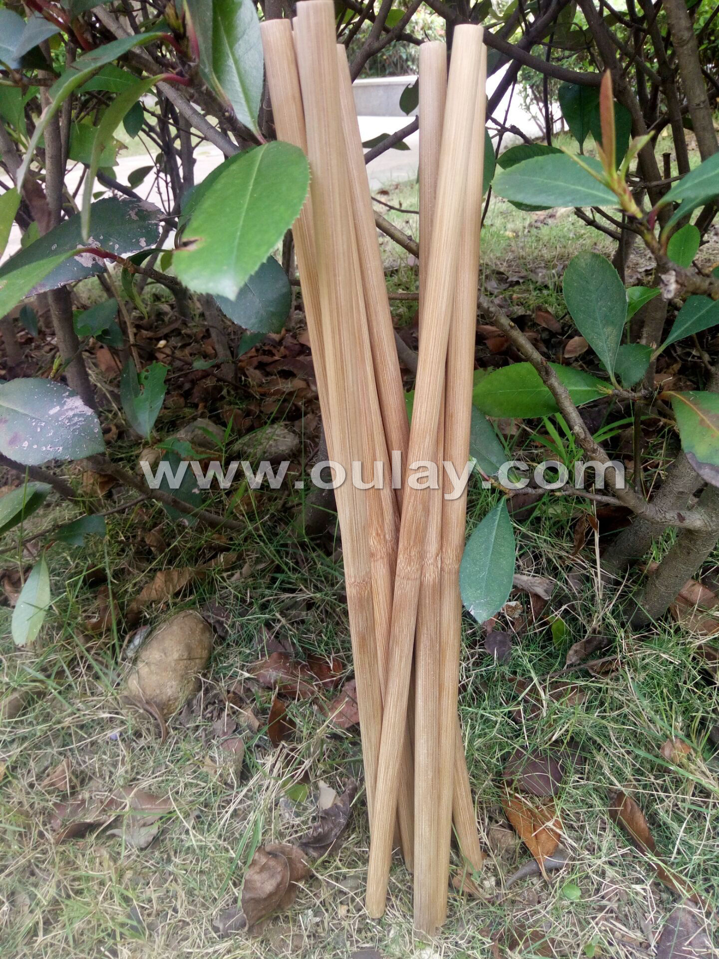 40cm 11-12mm bamboo drumsticks percussion mallets