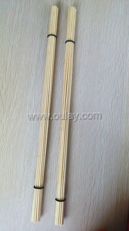 19 pcs 4mm bamboo stick for brush