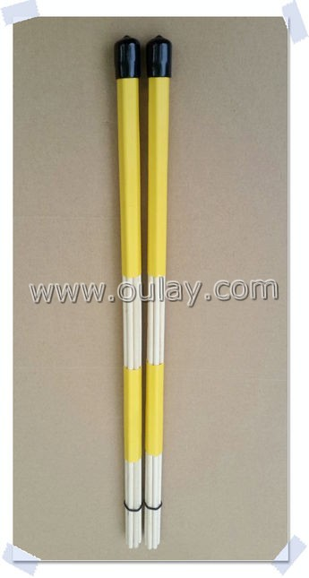 colorful 40cm drum brush sticks
