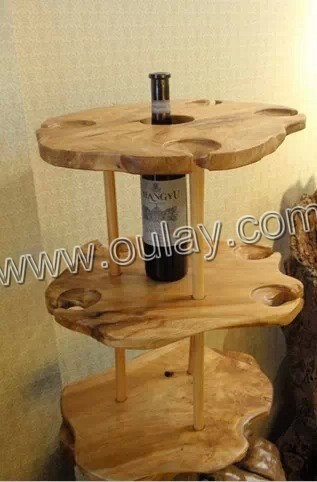 bamboo wine racks