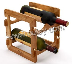 easy installation and remove classic wine bottle racks