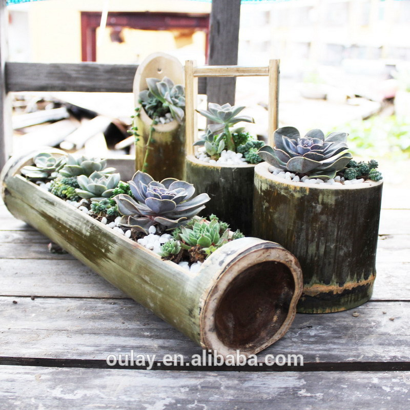 Bamboo Material Decoration Craft Bamboo Vase