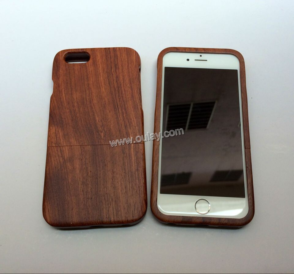 Wood  mobile phone case