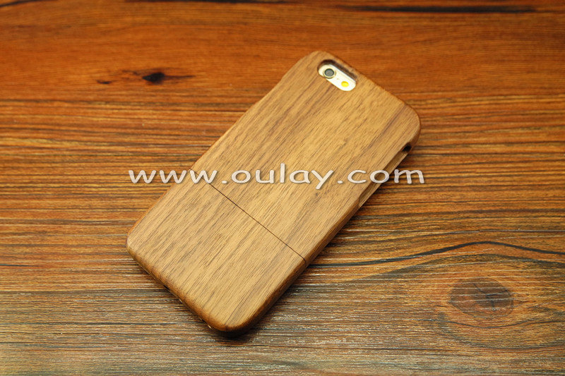 Walnut wood iphone case for iphone 6/6s