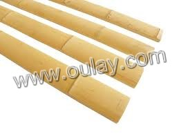 Bamboo slats for building