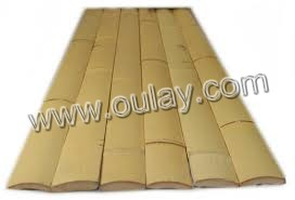 Bamboo strips for building decoration