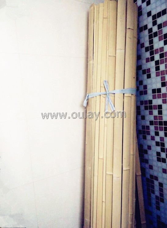 nature color bamboo strips