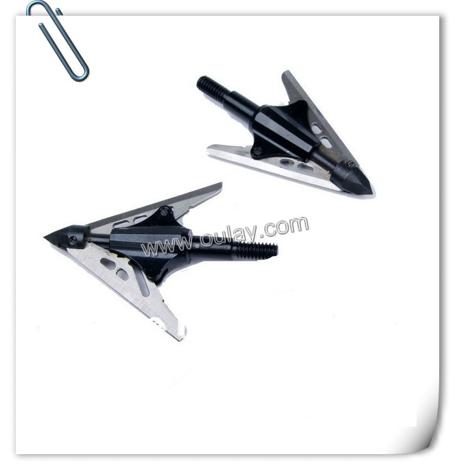 420 stainless iron broadheads with two blades