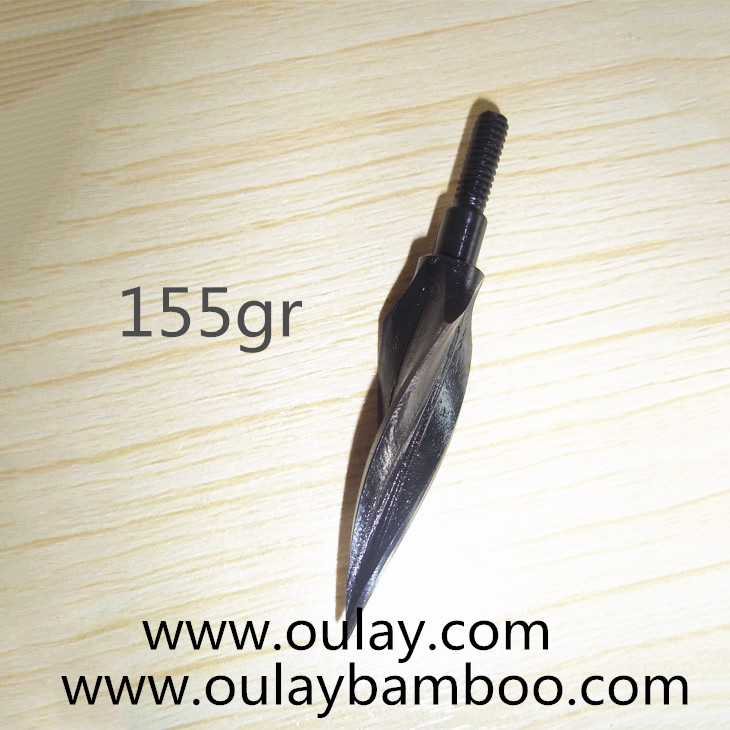 Traditional helical broadheads 155gr
