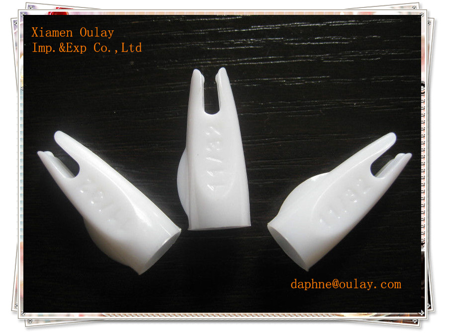High quality Archery arrow plastic nocks for wooden and bamboo arrow