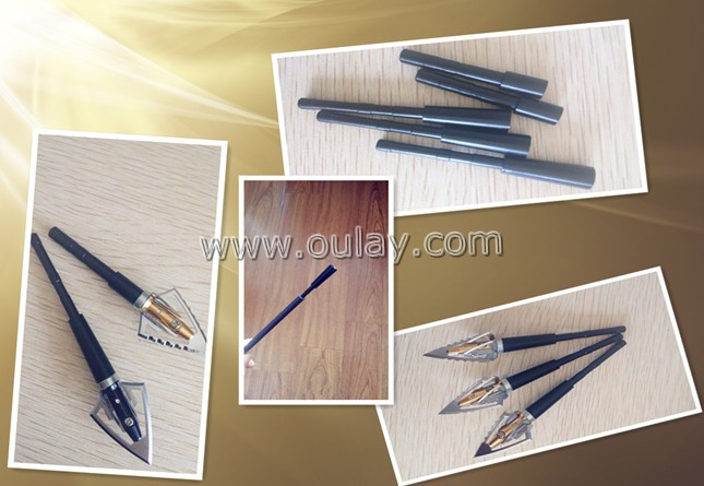 aluminium outserts for 0.165inch /4.2mm carbon arrows
