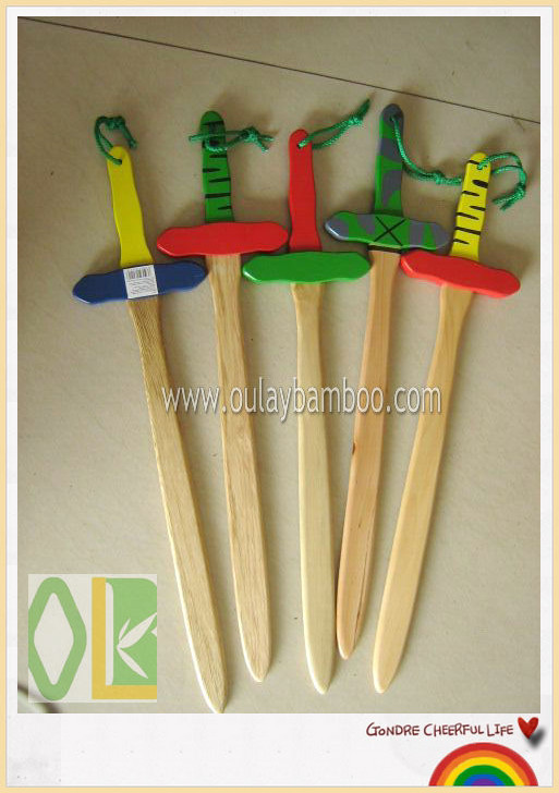 Custom children toy handmade wooden swords,shield for sale