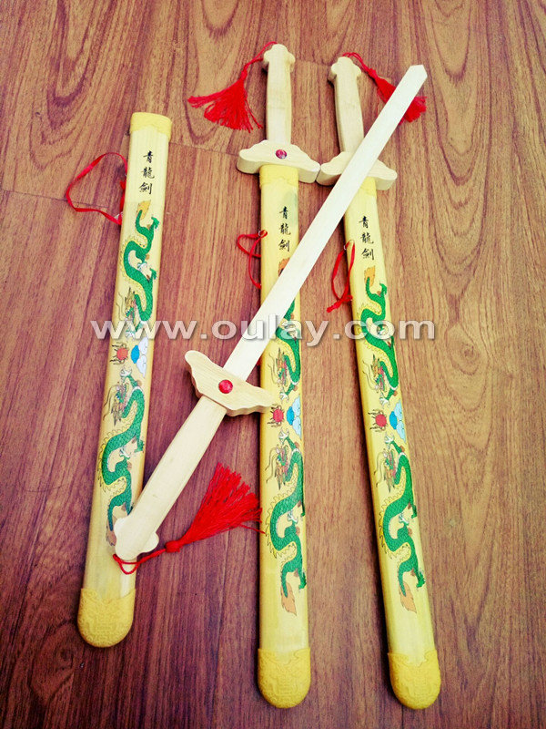 children bamboo katana sword